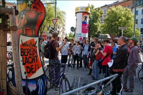 Gut besucht: Das Revoluzzer-Sightseeing in Kreuzberg