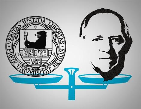 Auf ihn mit Gebrüll: Schäuble und seine Kritiker an der FU