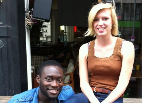 Jeff Klein und Carla Husted, die Gründer der NGO Boa Nnipa