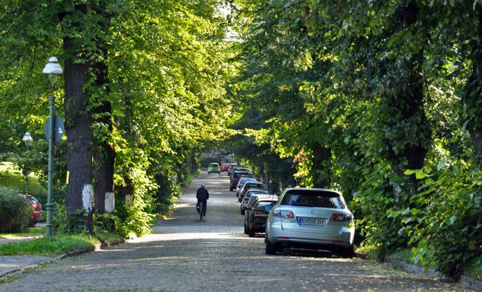 Die Lansstraße der FU - was versteckt sich hinter dem Namen? Foto: Christopher Hirsch