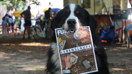 """Toschi, der bei """"Löwenzahn"""" den Publikumsliebling Keks spielt, hat FURIOS zum Fressen gern. Foto: Mara Bierbach"""