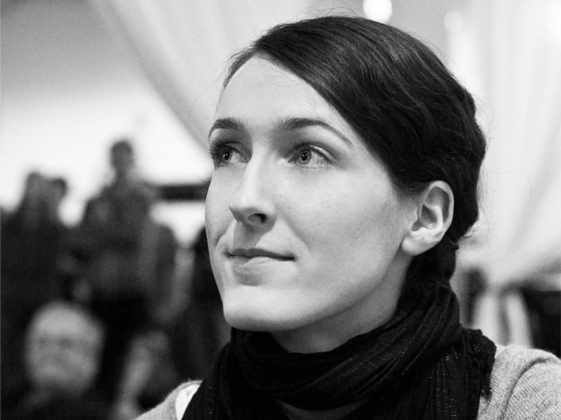 Piraten-Kandidatin Miriam Seyffarth studierte an der FU und kandidiert nun für den Bundestag. Foto:Ben de Biel/CC BY SA NC