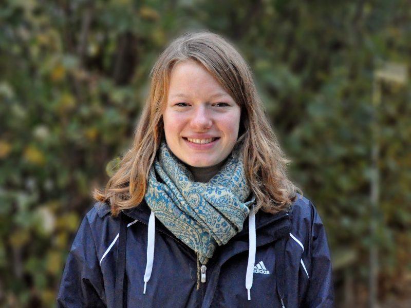 Linda Neumann ist Leistungsschwimmerin – und Tierpflegerin an der FU. Foto: Ann-Christin Werner