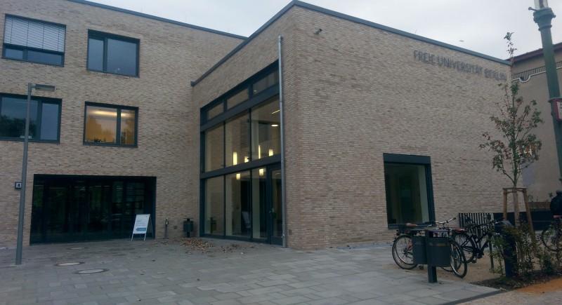 Das frisch fertiggestellte Studierenden-Service-Center. Foto: Cecilia Fernandez