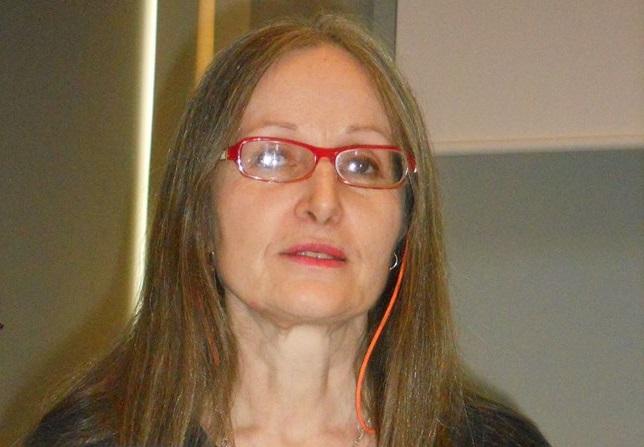 Linda Guzetti unterrichtet an der fU Italienisch und setzt sich für die Lehrbeauftragten ein. Foto:privat