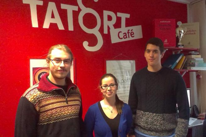 Jan Rinklake, Hannah Gennen und Dániel Krizsán (v.l.) wollen die FSI Jura verändern. Foto: Veronika Völlinger