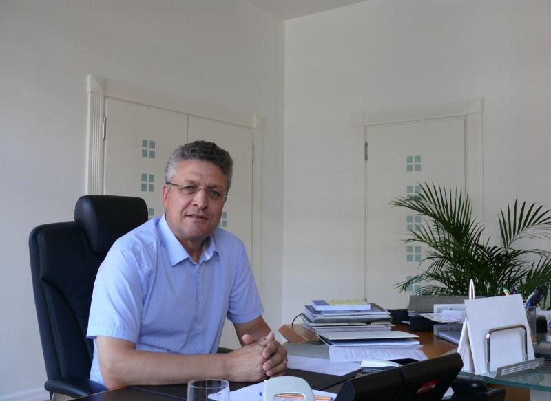 Lothar Wieler bestimmt die Richtlinien für Krankheitsprävention und -bekämpfung in Deutschland. Foto: Lisbeth Schröder