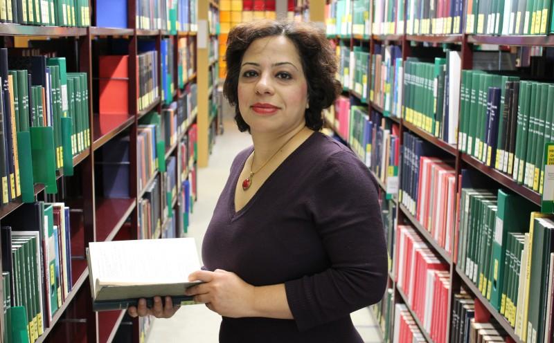 Wegen einer Kampagne war Fatemeh Masjedi im Iran sechs Monate inhaftiert. Foto: Friederike Werner