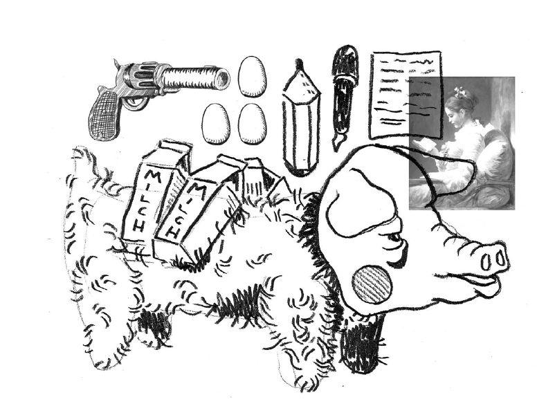 Wie bei der eierlegenden Wollmilchsau sind wir gespannt, welche Schöpfungen von euch eingehen. Illustration: Robin Kowalewski