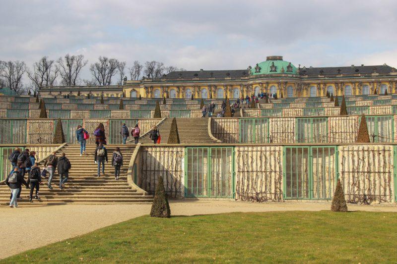 Schloss Sanssouci vertreibt Kummer und Sorgen - jedenfalls dem Namen nach. Foto: Eva Famulla