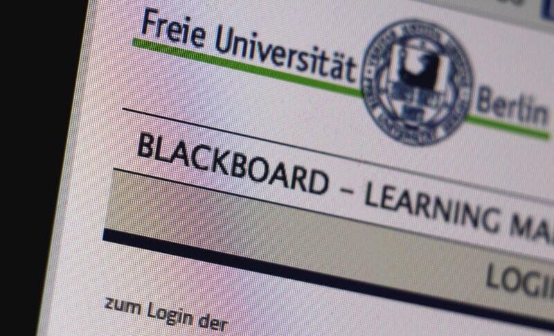 Blackboard beherbergt an der FU große Mengen an Kursmaterial. (Foto: Marius Mestermann)