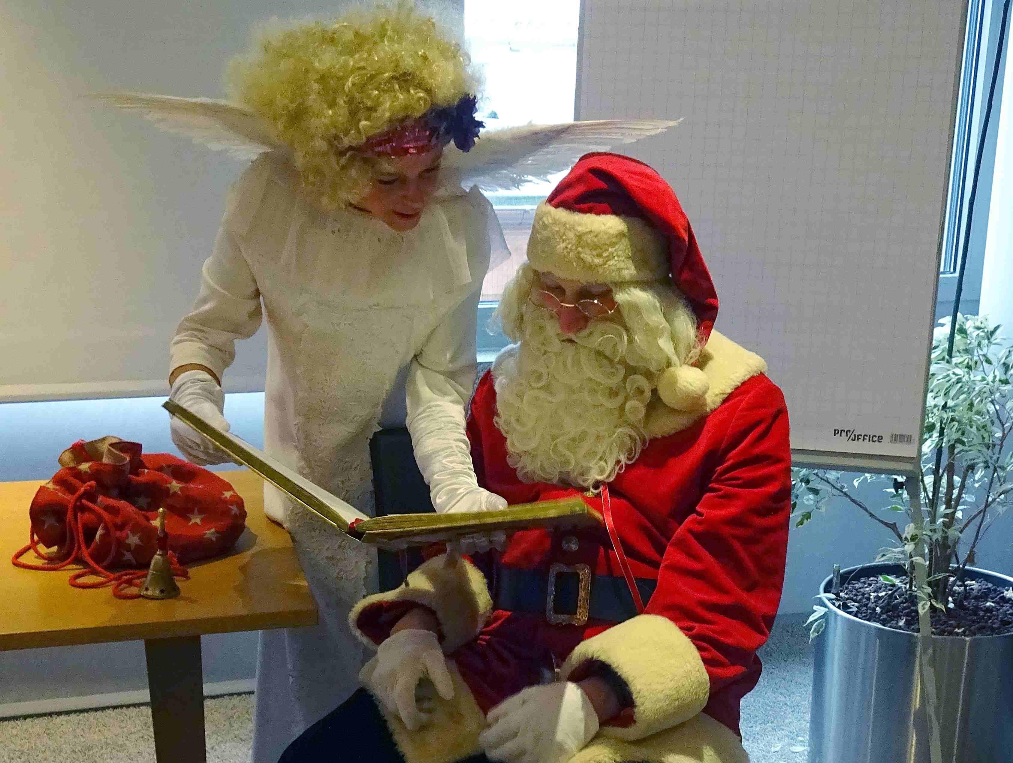 Studentenwerk Berlin Weihnachtsmann