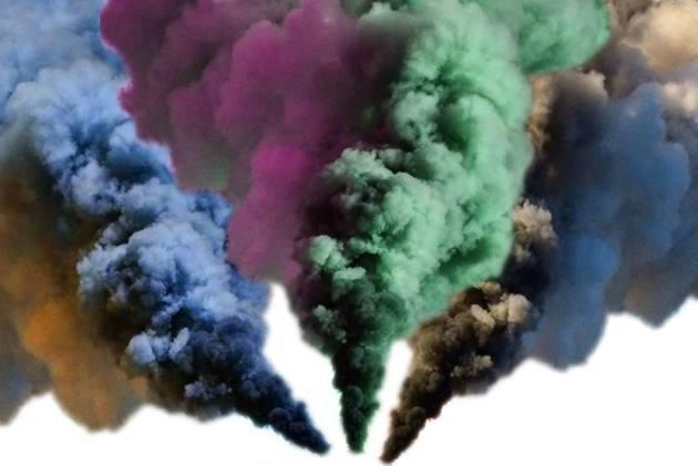 """""""Rauch"""" - Ein farbenfroher Begriff. Foto: Anna Weigelt"""
