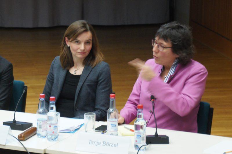 """Get a life!"", fordert Europaforscherin Tanja Börzel von der SPD. (Foto: Victor Osterloh)"