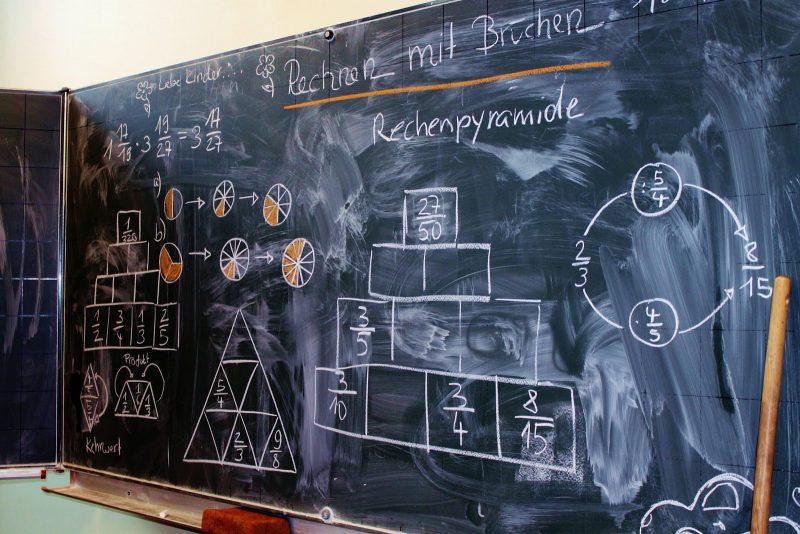 """Beginnt hier die """"Mathe-Hürde""""? Foto: Clara Nack"""