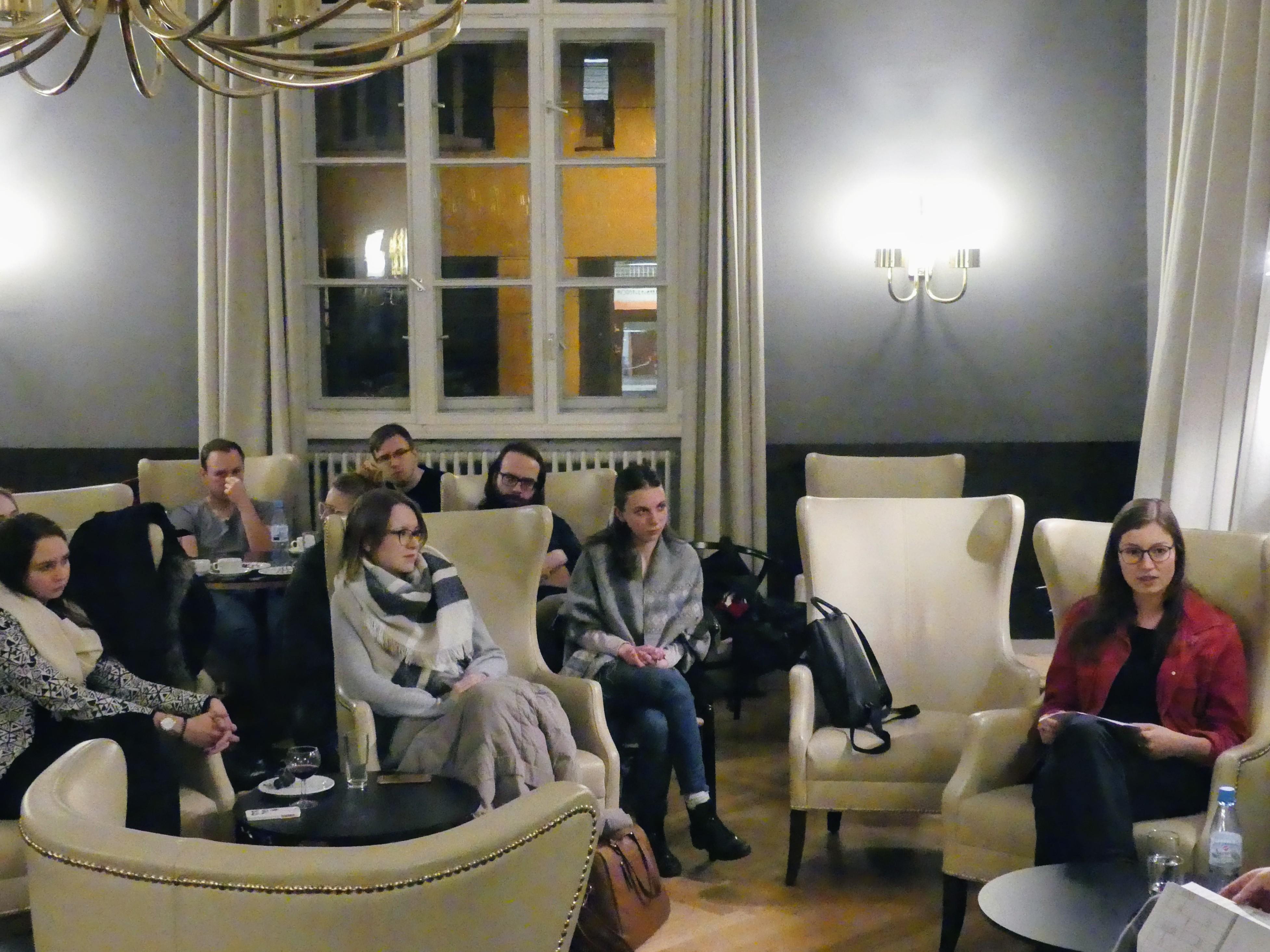 Lesung im Kaminzimmer der Normalität, 06.02.2018 _Foto STW BERLIN(1)