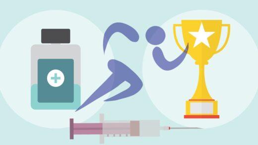 Investigativer Sportjournalismus wird im Angesicht von Dopingskandalen immer wichtiger. Illustrationen: Pixabay.com Bildmontage: Annika Grosser