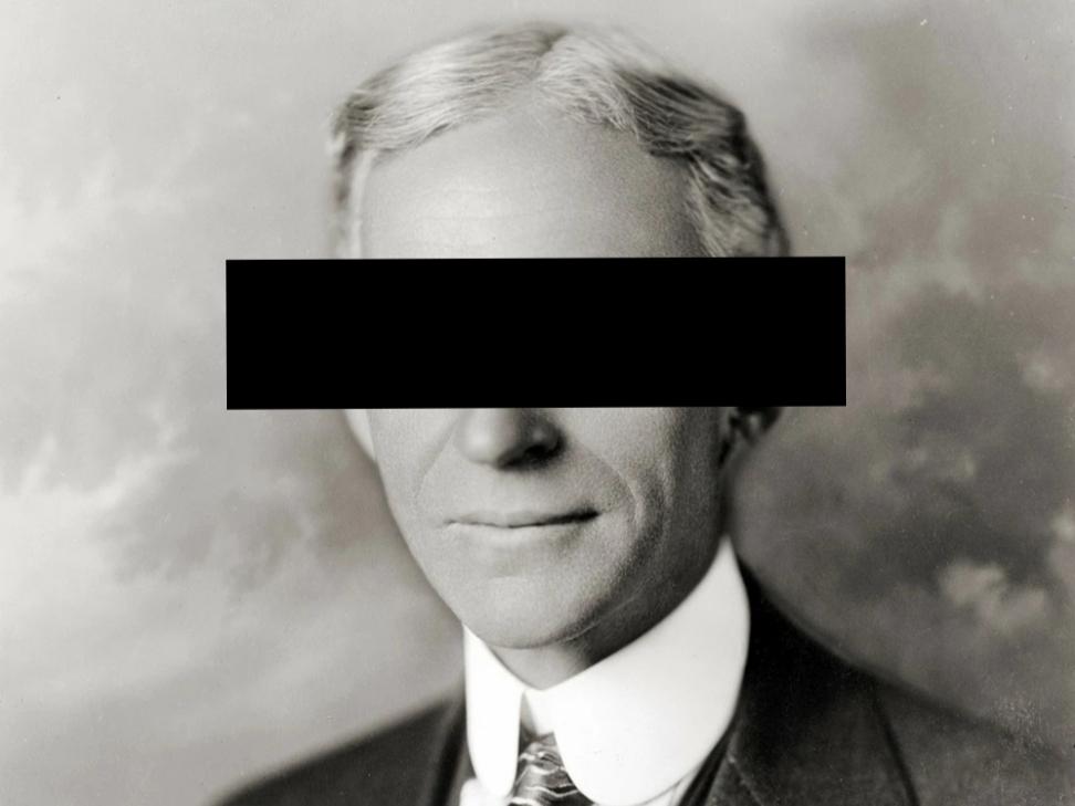 Henry Ford zensiert