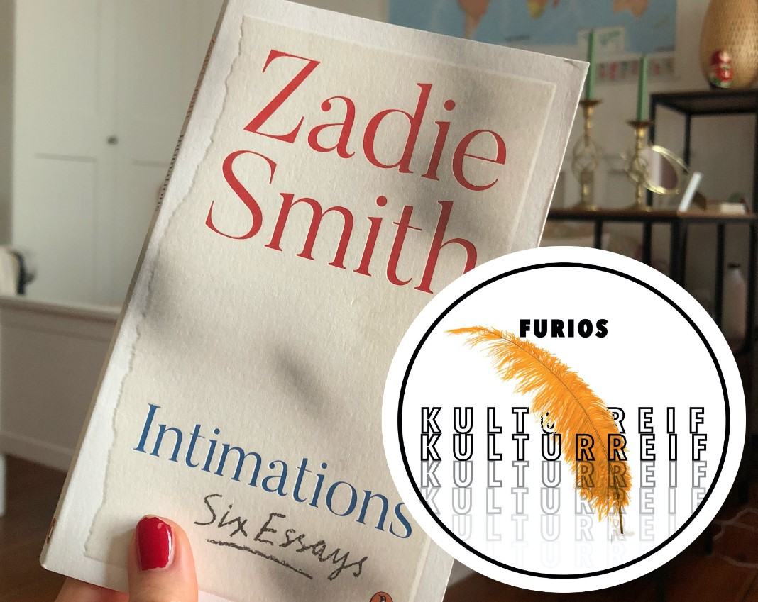 "Foto des Covers von ""Zadie Smith, Intimations"" für Kulturreif"